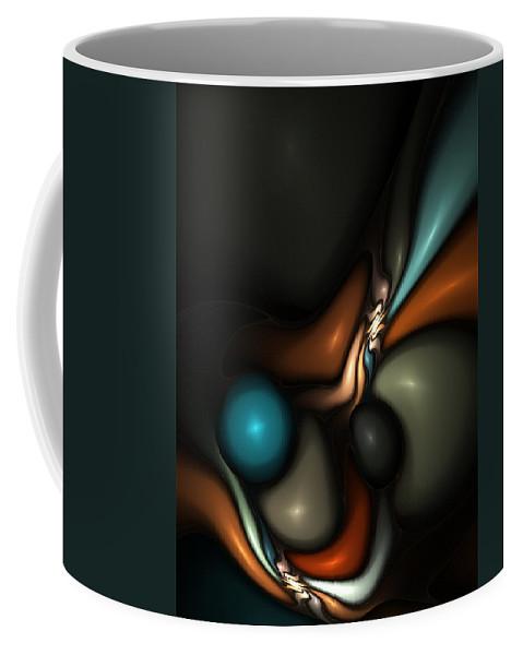 Coffee Mug featuring the digital art Lapidary Dream by David Lane