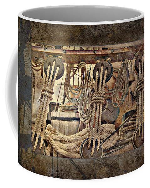 Still Life Coffee Mug featuring the photograph Lashings by Holly Kempe