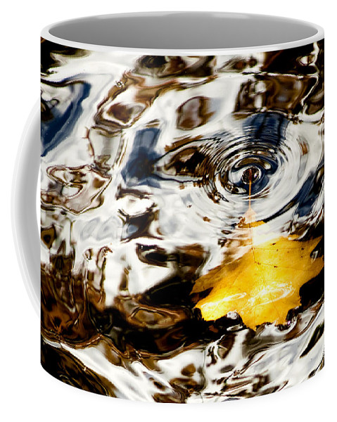 Foliage Coffee Mug featuring the photograph Last Breath by Greg Fortier