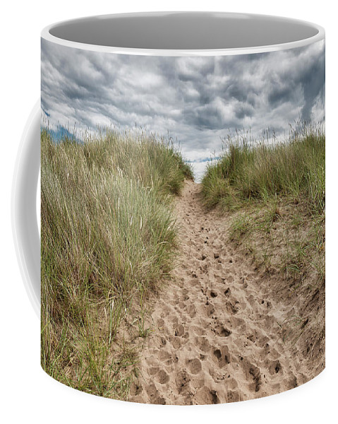Sea Coffee Mug featuring the photograph Last Effort Before Reaching The Beach... by Jeremy Lavender Photography