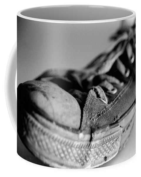 Chuck Taylor Coffee Mug featuring the photograph Last Leg by Jeffery Ball