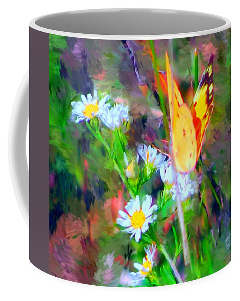 Landscape Coffee Mug featuring the painting Last Of The Season by David Lane