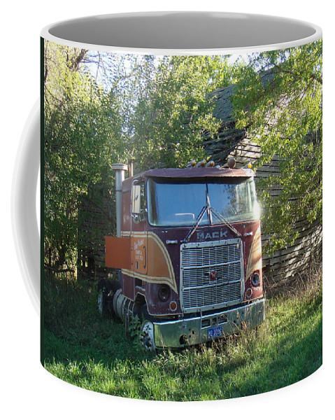 Mack Coffee Mug featuring the photograph Last Ride by Bonfire Photography