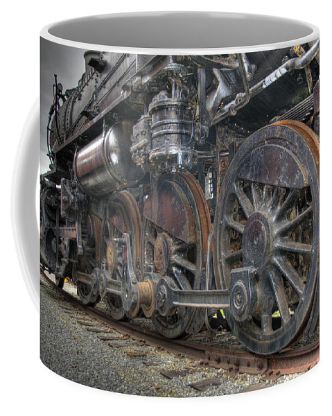 Hdr Coffee Mug featuring the photograph Last Stop by Scott Wyatt
