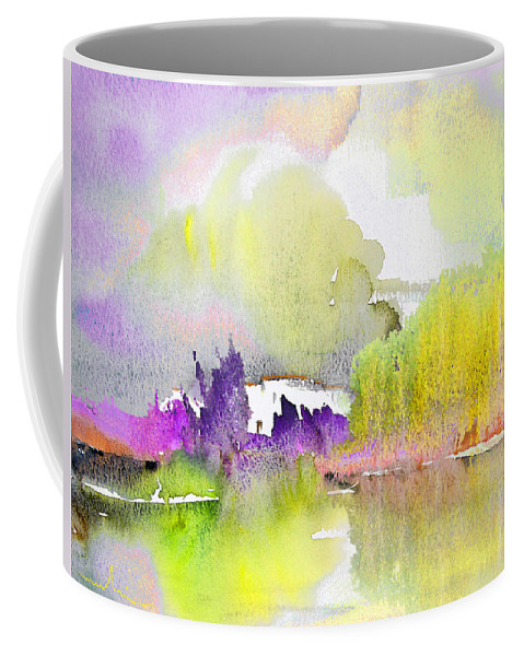 Watercolour Coffee Mug featuring the painting Late Afternoon 02 by Miki De Goodaboom