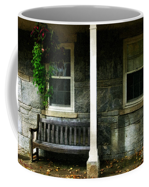 Autumn Coffee Mug featuring the painting Late Afternoon In Autumn by RC DeWinter