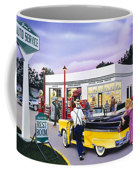 Adult Coffee Mug featuring the photograph Late For The Prom by Bruce kaiser