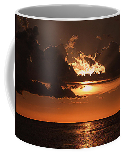 Keaton Beach Coffee Mug featuring the photograph Late In The Day 1 by Bob Johnson