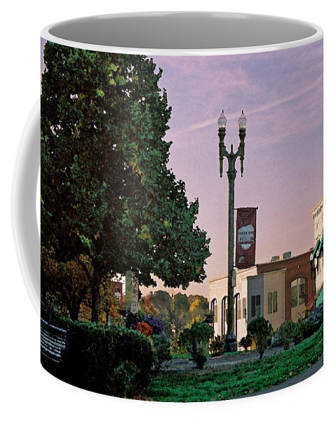 Landscape Coffee Mug featuring the photograph Late Sunday Afternoon by Steve Karol
