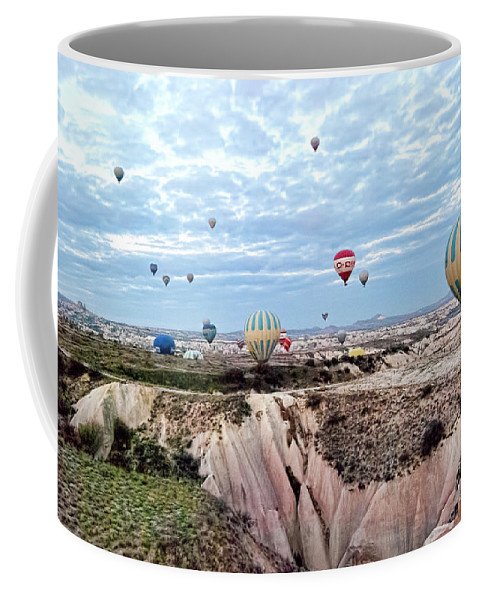 Launch Day Coffee Mug featuring the photograph Launch Day by Phyllis Taylor