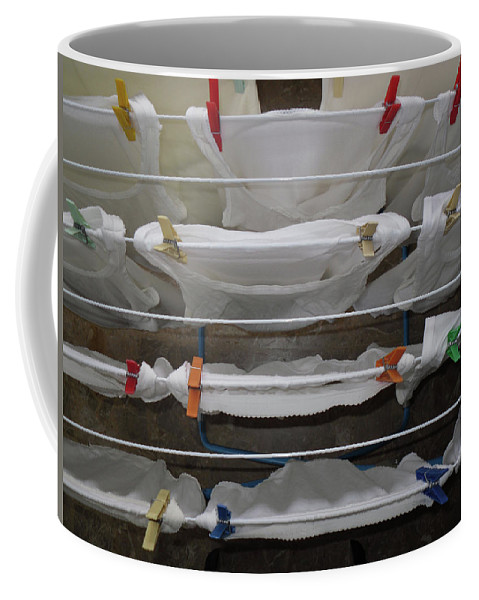 In Art Coffee Mug featuring the photograph Laundry Day by Marwan George Khoury