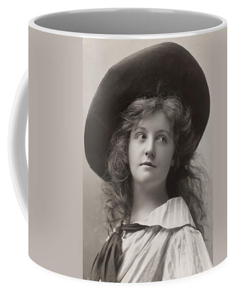 1906 Coffee Mug featuring the photograph Laura Hope Crews by Granger