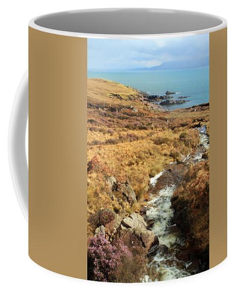 Creek Coffee Mug featuring the photograph Lavender Flowers by Jennifer Robin