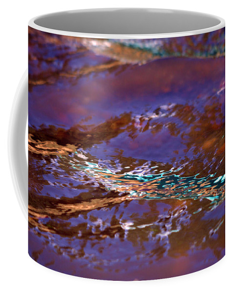 Water Coffee Mug featuring the photograph Lavender N Lace by Donna Blackhall