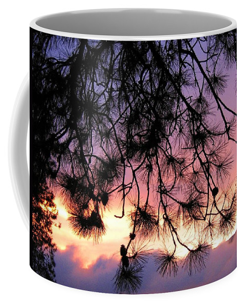Sunset Coffee Mug featuring the photograph Lavender Sunset by Will Borden