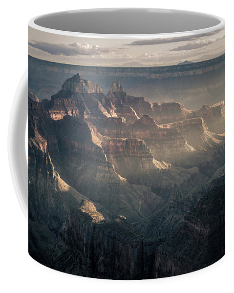 Grand Canyon Coffee Mug featuring the photograph Layers Of Grand by Daniel Cooley