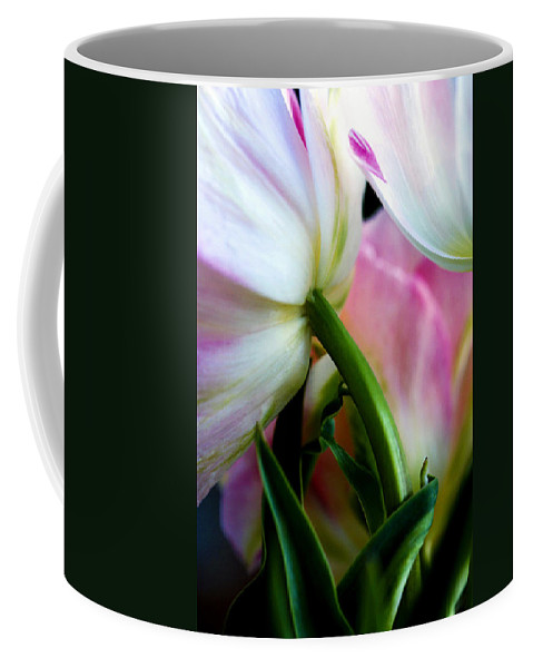 Flower Coffee Mug featuring the photograph Layers Of Tulips by Marilyn Hunt