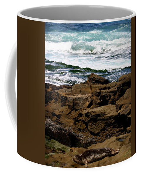 Beach Coffee Mug featuring the photograph Lazy Days by Anthony Jones
