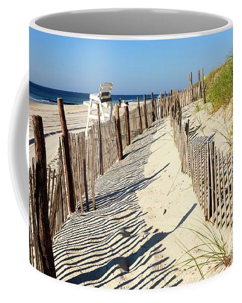 Lbi Dunes Coffee Mug featuring the photograph Lbi Dunes by John Rizzuto