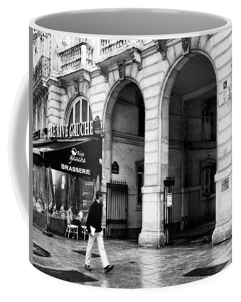 Le Rive Gauche Coffee Mug featuring the photograph Le Rive Gauche by Mick Burkey