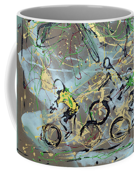 Abstract Coffee Mug featuring the photograph Le Tour A by J R Seymour