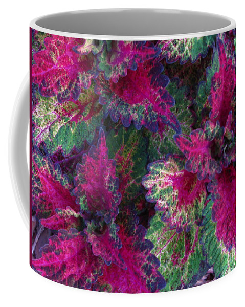 Patzer Coffee Mug featuring the photograph Leaf Power by Greg Patzer