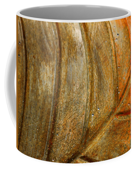 Leaf Coffee Mug featuring the photograph Leaf Structur by Heike Hultsch