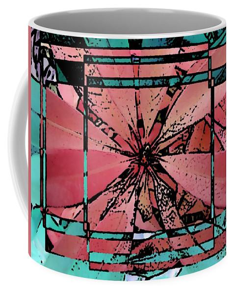Leaf Coffee Mug featuring the digital art Leafy Delight 2 by Tim Allen