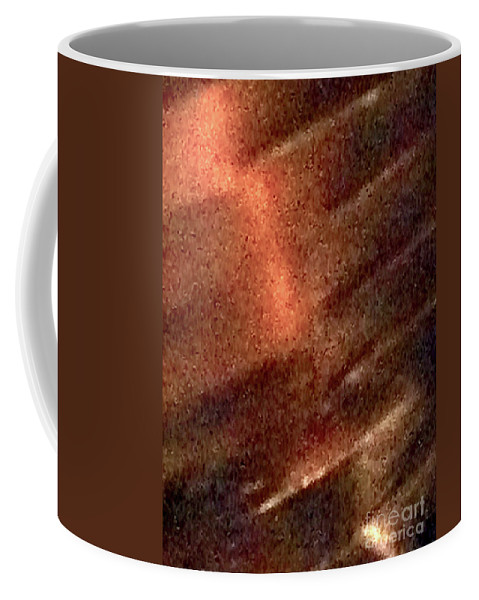 Leather Coffee Mug featuring the photograph Leather 19 by Ken Lerner