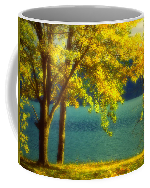 Autumn Coffee Mug featuring the photograph Leaves And Light by Tara Turner