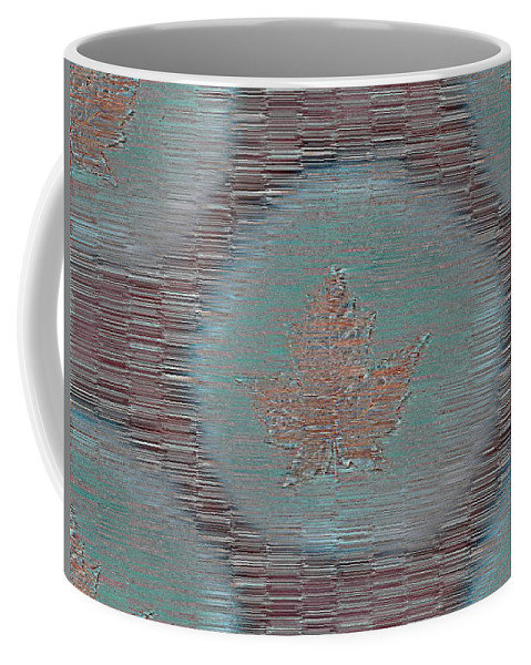 Leaves Coffee Mug featuring the photograph Leaves And Rain 7 by Tim Allen