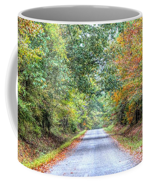 Memphis Coffee Mug featuring the photograph Leaves Changing In The Fall Near Collierville,tn by Billy Morris