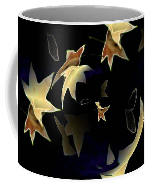 Leaves Coffee Mug featuring the photograph Leaves by Tim Allen