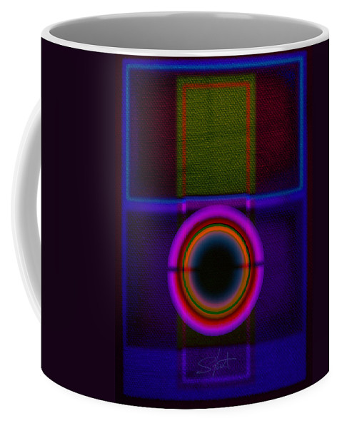 Portal Coffee Mug featuring the painting Leaving Lilac by Charles Stuart