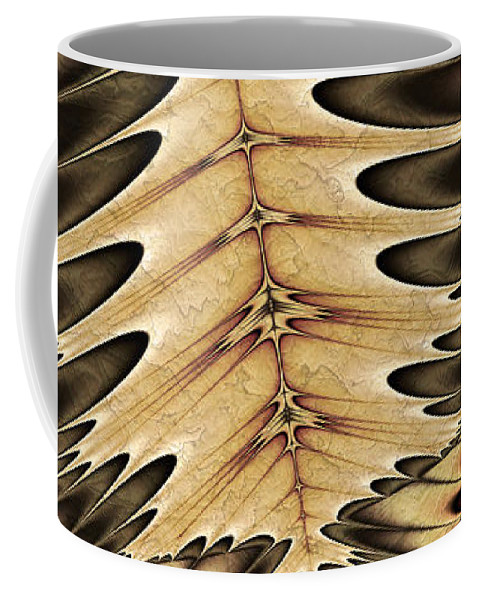 Vic Eberly Coffee Mug featuring the digital art Leaving by Vic Eberly