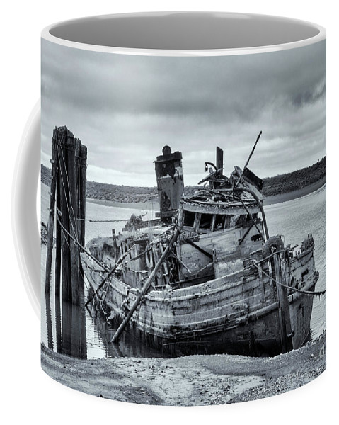 Mary D Hume Coffee Mug featuring the photograph Left To Rot by Mike Dawson