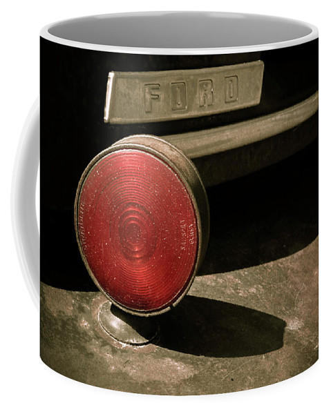 Car Coffee Mug featuring the photograph Left Turn Signal by Marilyn Hunt