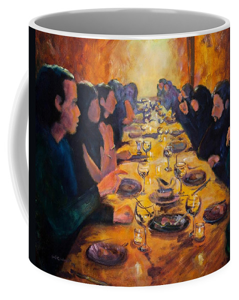 Food Coffee Mug featuring the painting Leftovers by Jason Reinhardt