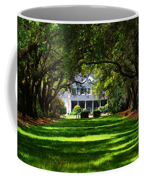 Photography Coffee Mug featuring the photograph Legare Waring House Charleston Sc by Susanne Van Hulst