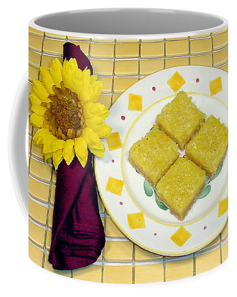 Lemon Coffee Mug featuring the photograph Lemon Candy Bars by Robert Meyers-Lussier