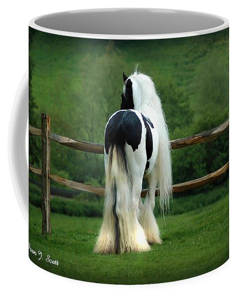 Gypsy Stallion Coffee Mug featuring the photograph Lenny by Fran J Scott