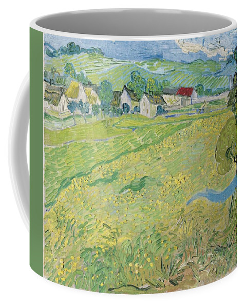 Art Coffee Mug featuring the painting Les Vessenots A Auvers by Artistic Panda