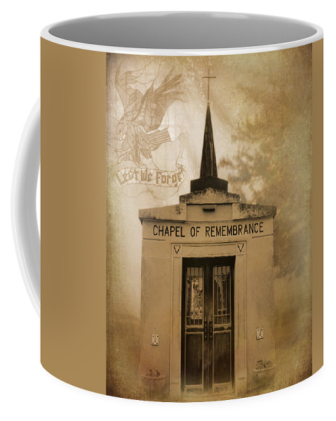 Lest We Forget The Forgotten Series 20 Coffee Mug featuring the photograph Lest We Forget The Forgotten Series 20 by Cynthia Woods