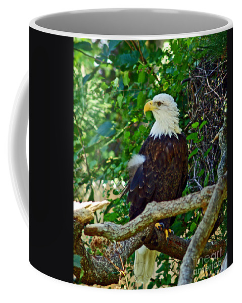 Fine Art Photography Coffee Mug featuring the photograph Let Freedom Ring by Patricia Griffin Brett