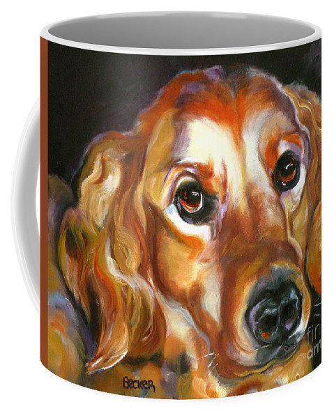 Oil Coffee Mug featuring the painting Let The Sunshine In by Susan A Becker