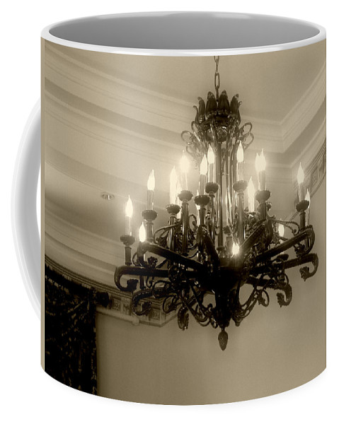 Antique Coffee Mug featuring the photograph Let There Be Light by RC DeWinter