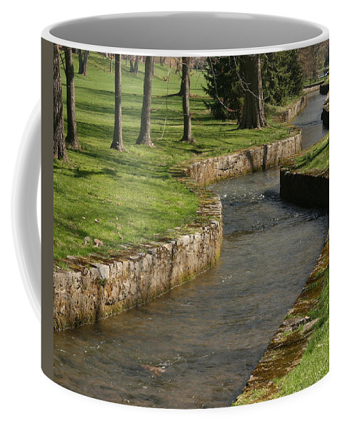 Creek Coffee Mug featuring the photograph Letort Spring Run by Jean Macaluso