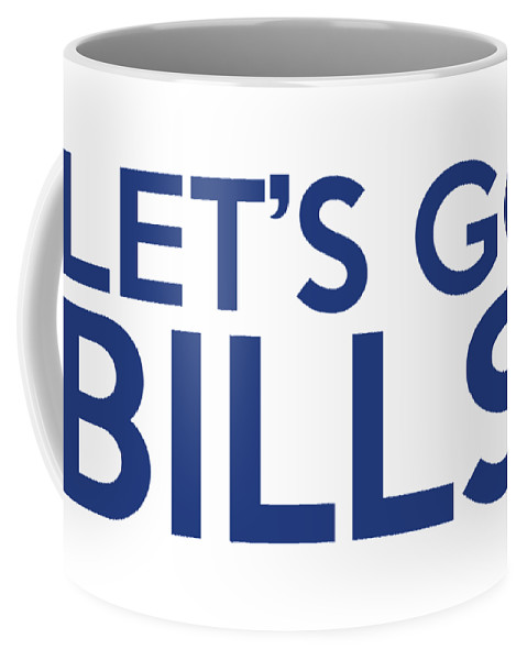 Buffalo Bills Coffee Mug featuring the painting Let's Go Bills by Florian Rodarte