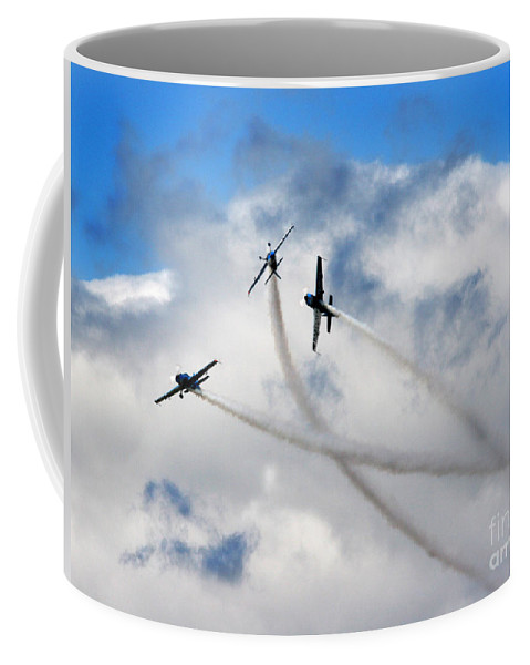 Blades Extra 300 Coffee Mug featuring the photograph Let's Play In The Clouds by Angel Tarantella