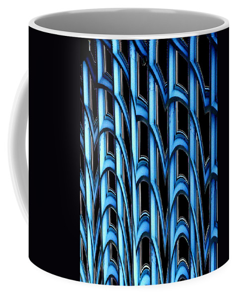 Seattle Coffee Mug featuring the photograph Library Abstract by Tim Allen